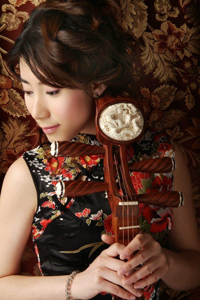 pipa virtuoso Yang Jin (China)